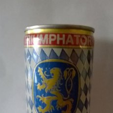 Coleccionismo de cervezas: LATA CERVEZA LOWENBRAU TRIUMPHATOR ALEMANIA. Lote 131362258