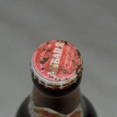 Coleccionismo de cervezas: BOTELLA - AMBAR 2 - COMPLETA - CON CHAPA. Lote 131654218