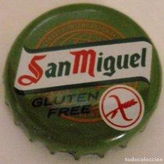 Coleccionismo de cervezas: CHAPA CORONA SAN MIGUEL GLUTEN FREE. . Lote 142794368