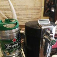 Coleccionismo de cervezas: GRIFO HEINEKEN KRUPS FUNCIONANDO. Lote 133433383