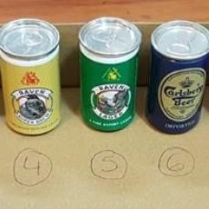 Coleccionismo de cervezas: PACK LATITAS DE CERVEZA. Lote 133810518