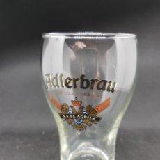 Coleccionismo de cervezas: VASO CERVEZA - ADLERBRAU - CAR111. Lote 134239422