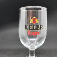 Coleccionismo de cervezas: COPA CERVEZA - KELER - CAR111. Lote 134239562