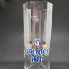 Coleccionismo de cervezas: VASO CERVEZA - HANNEN ALT - CAR111. Lote 134239642