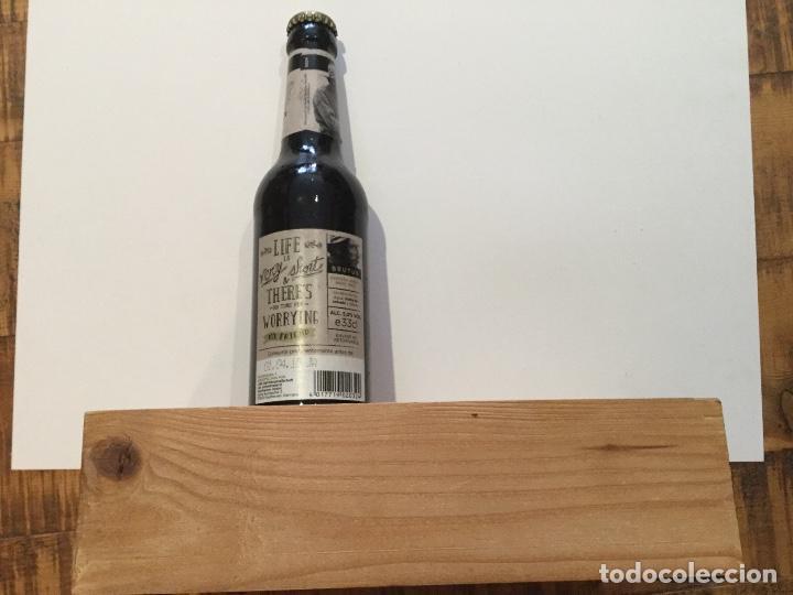 Coleccionismo de cervezas: Expositor exhibidor oficial cerveza BRUTUS - Foto 4 - 134281222