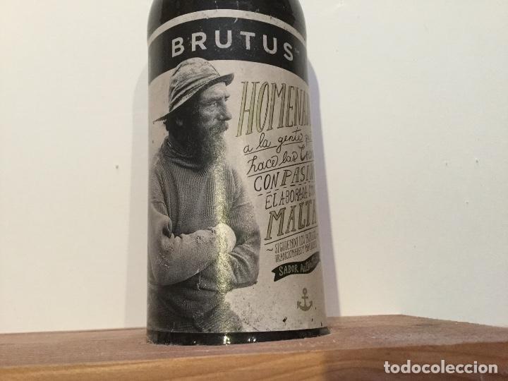 Coleccionismo de cervezas: Expositor exhibidor oficial cerveza BRUTUS - Foto 10 - 134281222