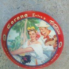 Coleccionismo de cervezas: BANDEJA (CHAROLA) ANTIGUA.. Lote 135159026