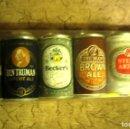 Coleccionismo de cervezas: 6 LATITAS MINI -COLECCION DE CERVEZAS-BODEGAS GARCÉS- -. Lote 135171798
