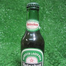 Coleccionismo de cervezas: BOTELLA CERVEZA HEINEKEN BEER 25CL. AÑO 1995 SIN ABRIR. Lote 135205462