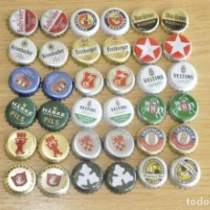 Coleccionismo de cervezas: CHA 36 - CHAPAS TAPONES CORONA CERVEZA . Lote 135388918