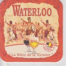 Coleccionismo de cervezas: (94) POSAVASOS . CERVEZA . WATERLOO (BELGICA). Lote 135606934