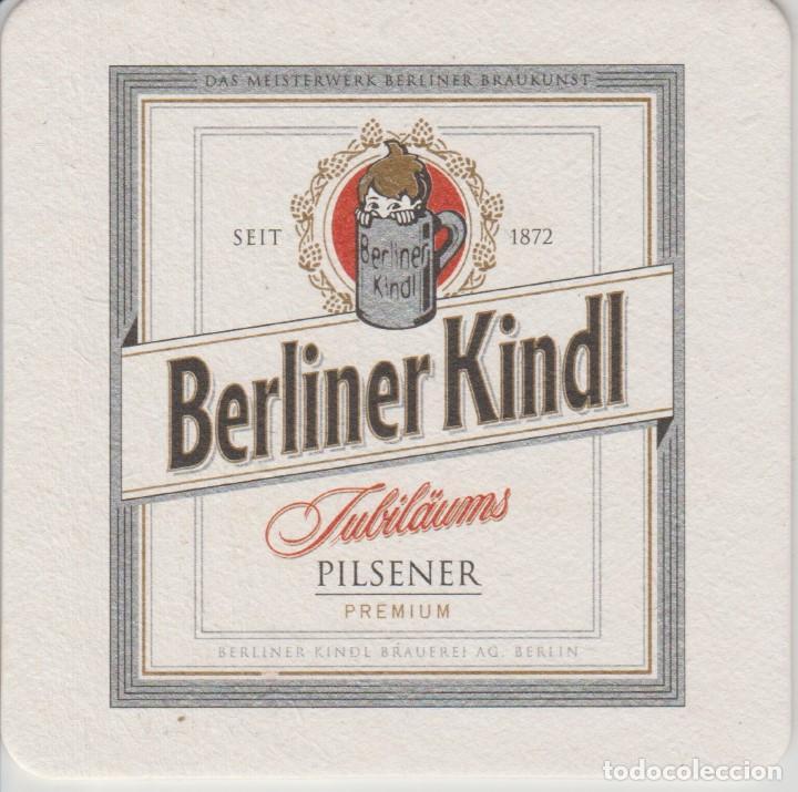 (80) POSAVASOS . CERVEZA . BERLINER KINDL PILSENER segunda mano