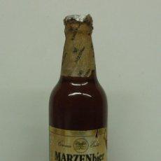 Coleccionismo de cervezas: BOTELLA DE CERVEZA MARZEN BIER TURIA, LLENA SIN ABRIR .. Lote 135877962
