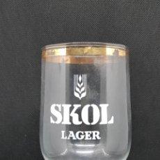 Coleccionismo de cervezas: COPA CERVEZA - SKOL LAGER - CAR111. Lote 136088282