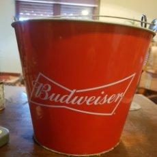Coleccionismo de cervezas: CUBO PARA HIELO BUDWEISER. Lote 136103934