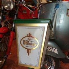 Coleccionismo de cervezas: FAROLA CERVEZA BITBURGER GRAN TAMAÑO. Lote 136283373