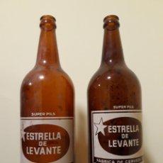 Coleccionismo de cervezas: BOTELLAS CERVEZA ESTRELLA LEVANTE. Lote 138693628