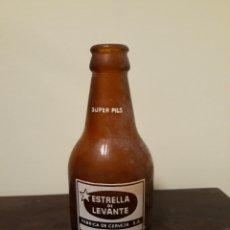 Coleccionismo de cervezas: BOTELLA CERVEZA ESTRELLA LEVANTE. Lote 138694165