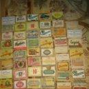 Coleccionismo de cervezas: LOTE ETIQUETAS CERVEZA. Lote 139577214