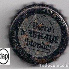Coleccionismo de cervezas: TAPÓN CORONA - CHAPA - BÉLGICA - CERVEZA ABBAYE DE THELEME BLONDE . Lote 140336358