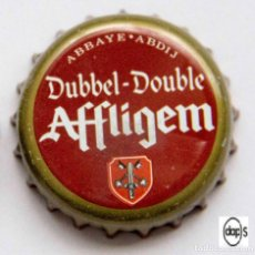 Coleccionismo de cervezas: TAPÓN CORONA - CHAPA - BÉLGICA - CERVEZA AFFLIGEM DUBBEL DOUBLE. Lote 140337486