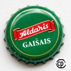 Coleccionismo de cervezas: TAPÓN CORONA - CHAPA - LETONIA - CERVEZA ALDARIS GAISAIS - VERDE. Lote 140338214
