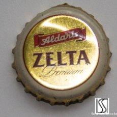 Coleccionismo de cervezas: TAPÓN CORONA - CHAPA - LETONIA - CERVEZA ALDARIS ZELTA PREMIUM. Lote 140338634