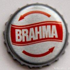 Coleccionismo de cervezas: TAPÓN CORONA - CHAPA - PERÚ - CERVEZA -TAPÓN DE GIRAR - BRAHMA. Lote 140786554