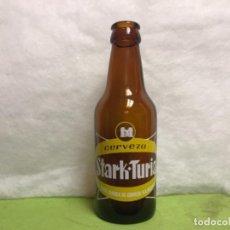 Coleccionismo de cervezas: BOTELLA CERVEZA STARK TURIA QUINTO SIN ESPECIAL. Lote 140837634