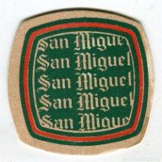 Coleccionismo de cervezas: POSAVASOS SAN MIGUEL. Lote 140954254