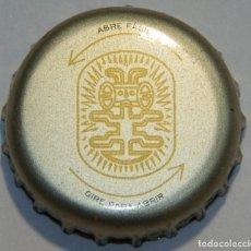 Coleccionismo de cervezas: TAPÓN CORONA - CHAPA - COLOMBIA - CERVEZA - CLUB COLOMBIA EXTRA FINA - TAPÓN DE GIRAR. Lote 141146806