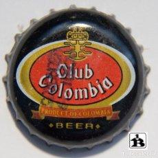 Coleccionismo de cervezas: TAPÓN CORONA - CHAPA - COLOMBIA - CERVEZA - CLUB COLOMBIA BEER . Lote 141146998