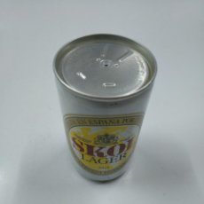 Coleccionismo de cervezas: LATA DE CERVEZA SKOL INTERNATIONAL LAGER. SIN CONTENIDO. TDK130. Lote 141331574