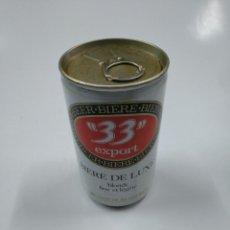 Coleccionismo de cervezas: LATA DE CERVEZA 33 EXPORT. BIERRE DE LUXE. SIN CONTENIDO. CAR130. Lote 141342802