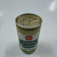 Coleccionismo de cervezas: LATA DE CERVEZA ALCAZAR PREMIUM. SIN CONTENIDO. CAR130. Lote 141342994
