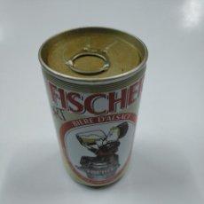 Coleccionismo de cervezas: LATA DE CERVEZA FISCHER. BIERE D'ALSACE. SIN CONTENIDO. CAR130. Lote 141344042