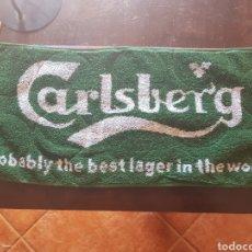 Coleccionismo de cervezas: TOALLA DE BAR CERVEZA CARLSBERG. PAÑO. Lote 141459122