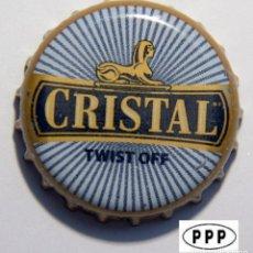 Coleccionismo de cervezas: TAPÓN CORONA - CHAPA - PERÚ - CERVEZA - CRISTAL - TAPÓN DE GIRAR - NOS. Lote 141482586