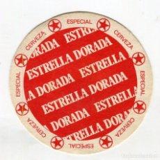 Coleccionismo de cervezas: POSAVASOS DAMM ESTRELLA DORADA CARTON VER CARAS. Lote 141516602