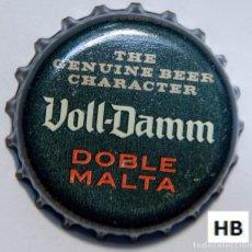Coleccionismo de cervezas: TAPÓN CORONA - CHAPA - ESPAÑA (BARCELONA) - CERVEZA - VOLL DAMM DOBLE MALTA (LETRAS GRANDES). Lote 141685658