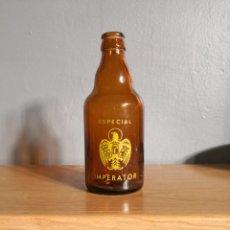 Coleccionismo de cervezas: BOTELLA CERVEZA EL AGUILA IMPERATOR. ESPECIAL UN TERCIO 33CL. BOTELLIN. Lote 142568056