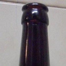 Coleccionismo de cervezas: BOTELLA CERVEZA VACÍA Y SIN CHAPA DE LA CERVESERA DEL PEDRAFORCA. ROSSA BOTELLA DE 33CL. Lote 143103690