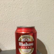 Coleccionismo de cervezas: MINI LATA MAHOU 5 ESTRELLAS 250ML SIN ABRIR. Lote 143226598