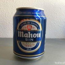 Coleccionismo de cervezas: MINI LATA MAHOU SIN 250 ML SIN ABRIR. Lote 143226950