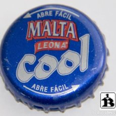 Coleccionismo de cervezas: TAPÓN CORONA - CHAPA - COLOMBIA - CERVEZA - LEONA MALTA COOL - TAPÓN DE GIRAR - AÑO 2004. Lote 143344894