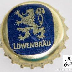 Coleccionismo de cervezas: TAPÓN CORONA - CHAPA - ALEMANIA - CERVEZA - LOWENBRAÜ - ESPUMA. Lote 143519214