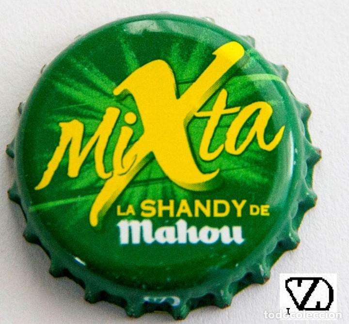 TAPÓN CORONA - CHAPA - ESPAÑA (MADRID) - CERVEZA - MAHOU MIXTA - LA SANDY DE MAHOU (Coleccionismo - Botellas y Bebidas - Cerveza )