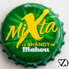 Coleccionismo de cervezas: TAPÓN CORONA - CHAPA - ESPAÑA (MADRID) - CERVEZA - MAHOU MIXTA - LA SANDY DE MAHOU. Lote 143539914