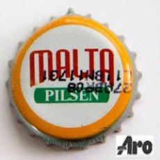 Coleccionismo de cervezas: TAPÓN CORONA - CHAPA - URUGUAY - CERVEZA - MALTA PILSEN - FECHA 2008. Lote 143544150