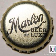 Coleccionismo de cervezas: TAPÓN CORONA - CHAPA - ESPAÑA (ZARAGOZA) - CERVEZA - MARLEN BEER DE LUXE. Lote 143544398